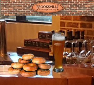Brooksville Brewing Bagel