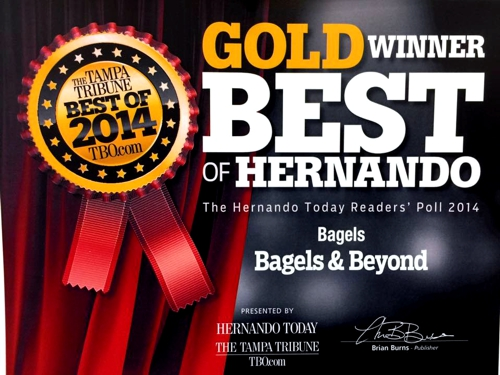 Bagels and Beyond best in Hernando